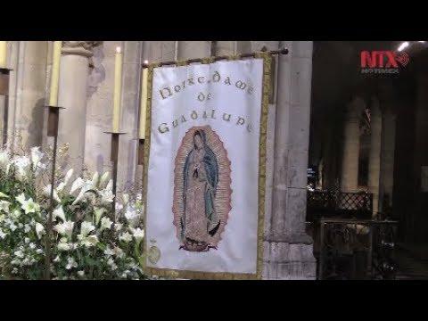 Misa de Guadalupana en Notre-Dame de París pide por indígenas de México