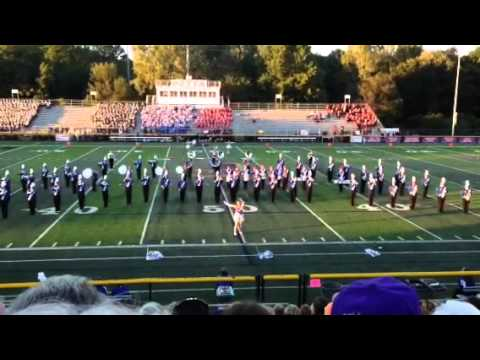 Tuslaw high school marching band 2014