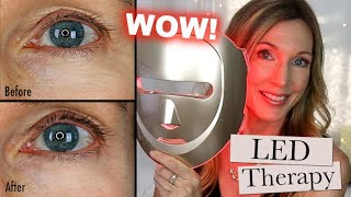 LED Red Light Anti-Aging Mask for Wrinkles! Does It Work?