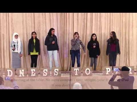 Minaret Academy 11th Annual Fundraiser - Middle School Girls Segment (Because I Said So) - 2018