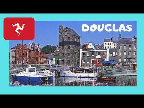 Exploring the beautiful ISLE OF MAN 😲 and its capital Douglas, let's go!