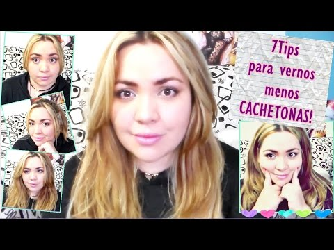 7 Tips Para vernos menos CACHETONAS | Como disimular la cara REDONDA |Tinte, peinados contorno y mas