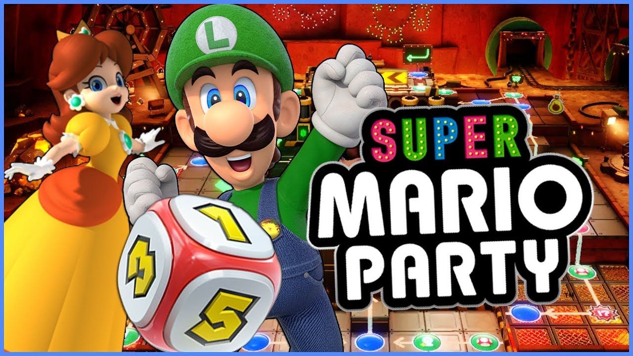 Super Mario Party: King Bob-omb's Powderkeg Mine (Nintendo ...