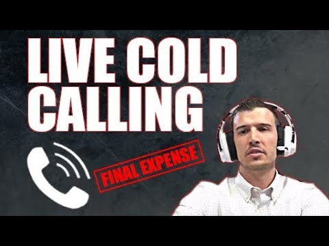 LIVE [Final Expense] COLD CALLING Session | FREE SCRIPT w/ Q&A