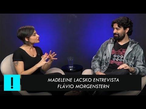 Flavio Morgenstern x Madeleine Lacsko - entrevista na TV Antagonista 06/04/2017
