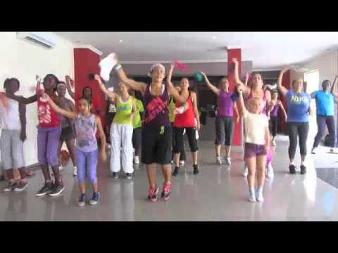 Jump Zumba Fitness with Quiana Canfor-Dumas (Accra, Ghana)