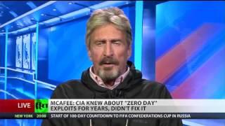 John McAfee on CIA leaks #Vault7 Revelation