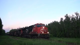 CN 2315 West, Sunset Crude Oil Train 06-19-2015