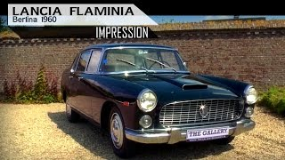 Lancia Flaminia Berlina 1960 - Modest test drive with V6 engine sound | SCC TV