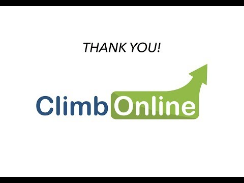 Thank you to Climb Online