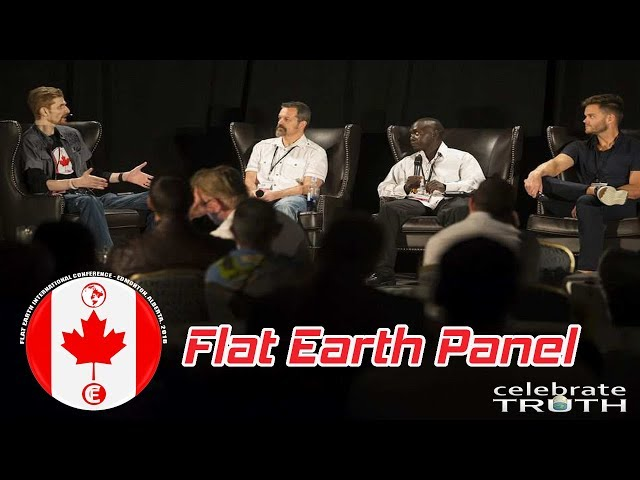 FE2018 Canada Flat Earth Bible Panel Q&A | Robbie Davidson, Rob Skiba, Emmanuel Lokonga & Matt Long