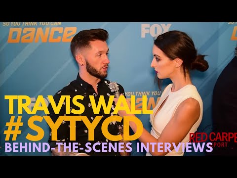 Travis Wall interviewed at So You Think You Can Dance: The Next ...