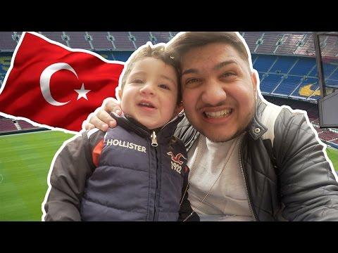 FENERBAHCE VS. GALATASARAY ESKALIERT ! 🤣 - TÜRKEI VLOG 2017 | ALI