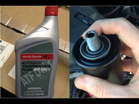 How to Replace your Transmission Filter and Automatic Transmission Fluid – 2002 Acura TL-S