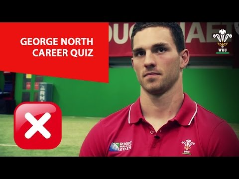 How much does George North know about George North? | WRU TV