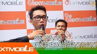 Video XTmobile | Pre-opening XTmobile 650 Lê Hồng Phong, giao lưu cùng Vật Vờ download MP3, 3GP, MP4, WEBM, AVI, FLV April 2018