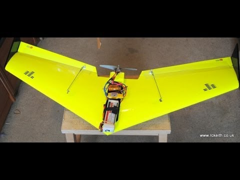 Hot Wire CNC flying wing build details | rcKeith
