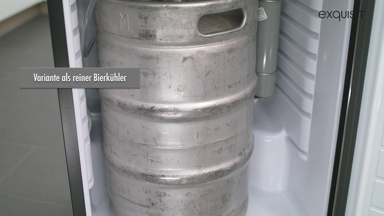 Outdoorküche Mit Kühlschrank Reparieren : Bk fassbier kühlschrank youtube