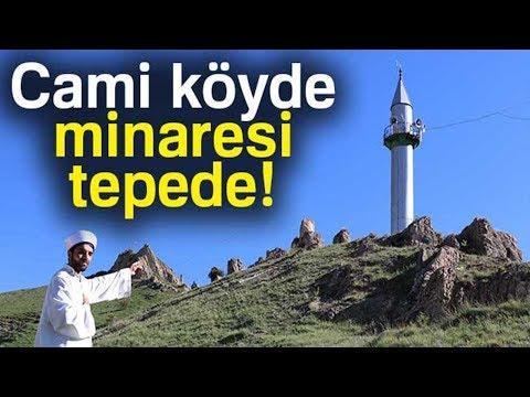 Cami Köyde, Minaresi Tepede
