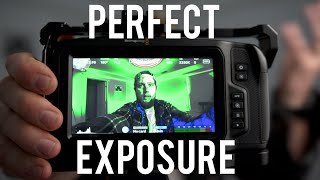 How to Get Perfect Exposure ft. BMPCC4K