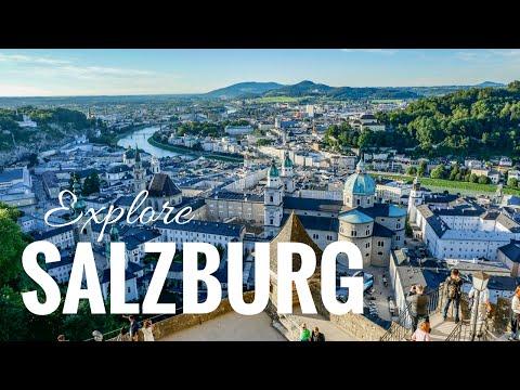 Salzburg city tour Mozart, old town, castle Hohensalzburg & Meininger Hotel - vacation guide