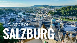 Salzburg city tour Mozart, old town, castle Hohensalzburg & Meininger Hotel - vacation guide(, 2016-08-26T20:37:13.000Z)