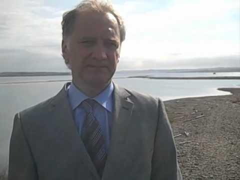 James Wooder describes plans for port at Sydney, Nova Scotia