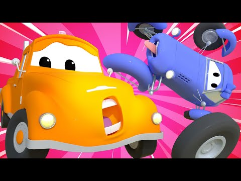Tow Truck For Kids -  A Wheely Big Issue - Tom The Tow Truck In Car City