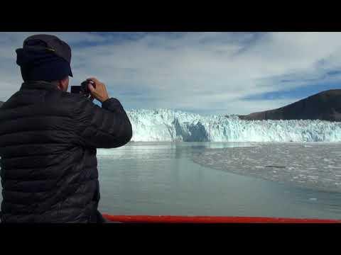 Fascinating glacier world - the Epiq Sermia in West Greenland