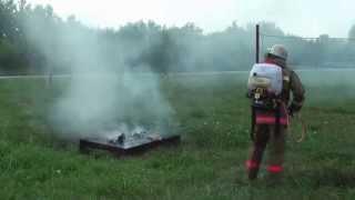 Обучение работе с системой ГИРС 120-РБ представителей служб пожаротушения Омской области, г.Омск
