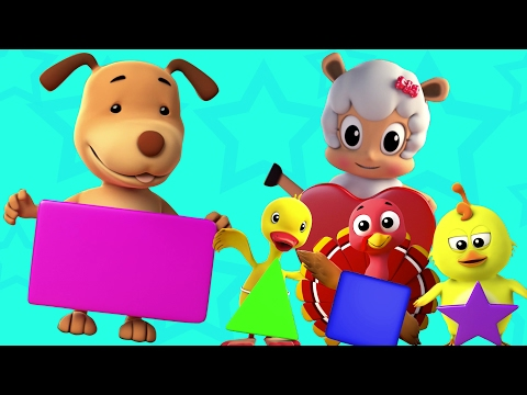 forme canzone | imparare forme | educativo video | 3D Kids Cartoon | Preschool Songs | Shapes Song