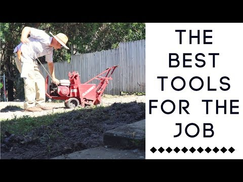 CAPITAL INVESTMENT: The Best Tools For the Job (Food Forest Installations)