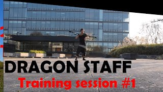 Dragon Staff - training session #1