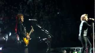 Bon Jovi - Intro - You Give Love A Bad Name Live Montreal Feb 13 2013