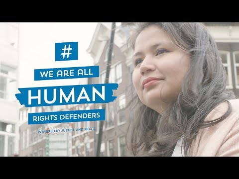 Karen Mejía  - We Are All Human Rights Defenders #WAAHRD
