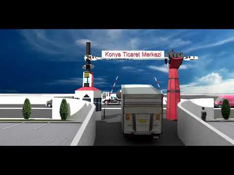 Konya Ticaret Merkezi 3D Animasyon