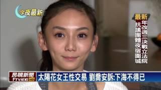 偽證罪判3個月 劉喬安淚訴:我會服刑-民視新聞 thumbnail