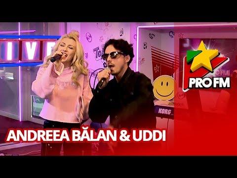 Andreea Balan feat. Uddi - Iti mai aduci aminte   ProFM LIVE Session