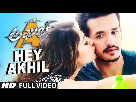 Hey Akhil Full Video Song    Akhil - The Power Of Jua    Akhil Akkineni, Sayesha