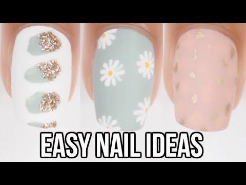diy no tool nail ideas! easy nail art compilation thumbnail