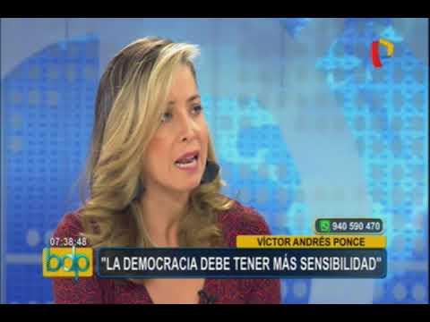 """Víctor Ponce: """"Fuerza Popular está en problemas, no el país"""""""