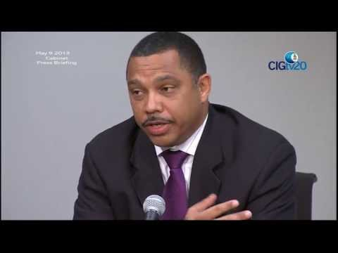 Cabinet Press Briefing May 9 2013