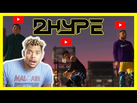 NBA 2K19 PARK CAGES (SLAM BALL) WITH 2HYPE FT. LSK AND JESSER THE LAZER