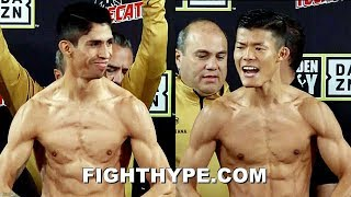 "REY VARGAS VS. ""FIRED UP"" TOMOKI KAMEDA WEIGH-IN AND ""FORCED TO SEPARATE"" FINAL FACE OFF"