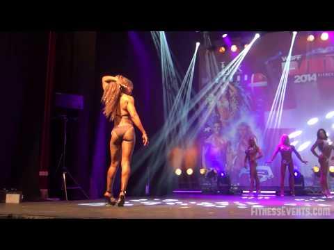 Wbff Denmark 2014 Diva Figure Model Bikini Round
