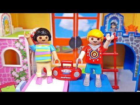 Playmobil Fröhliches Kinderzimmer NEU (9270 pink) + (6556 ...