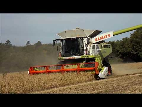 Agritour Kft *INTRO* 2017 Soybeans Harvest