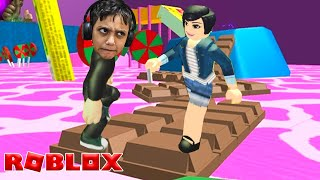 I MADE FRIENDS in the ESCAPE of the DOCELÂNDIA 🍭 (Roblox Candyland Obby) Gustavo TV Games