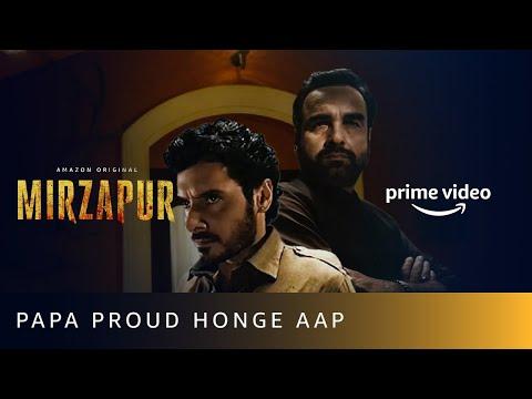 Munna Bhaiya's Letter - Papa Proud Honge Aap | Mirzapur 2 | Divyenndu | Amazon Prime Video