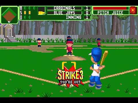 Backyard Baseball 2006 (GBA) - Season Playthrough Game 1 ...